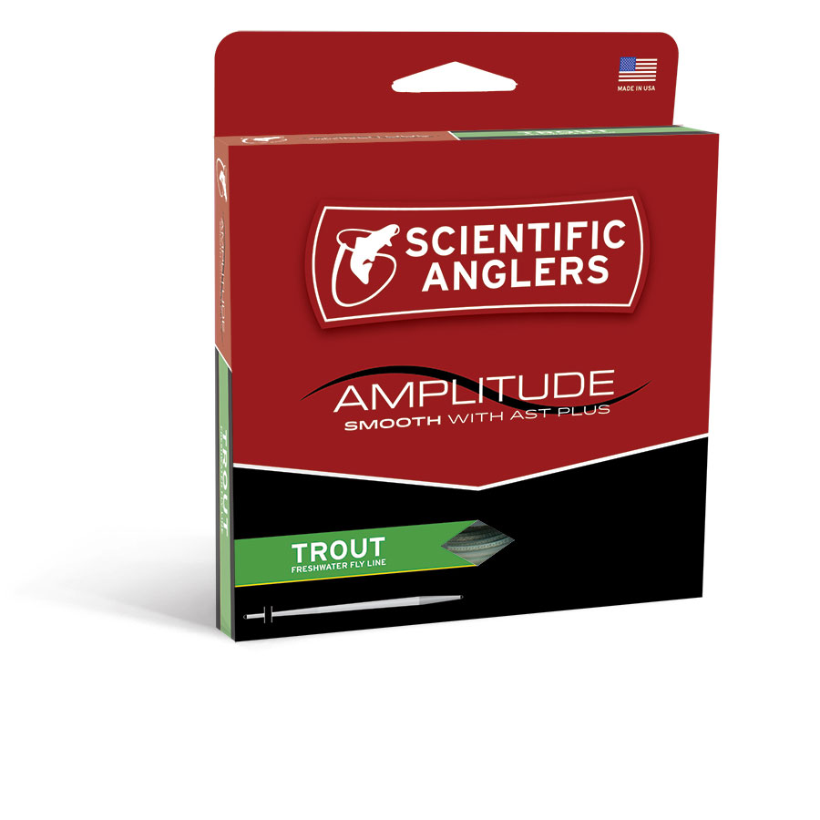 NEW! Scientific Anglers Amplitude Smooth Trout Fly Line