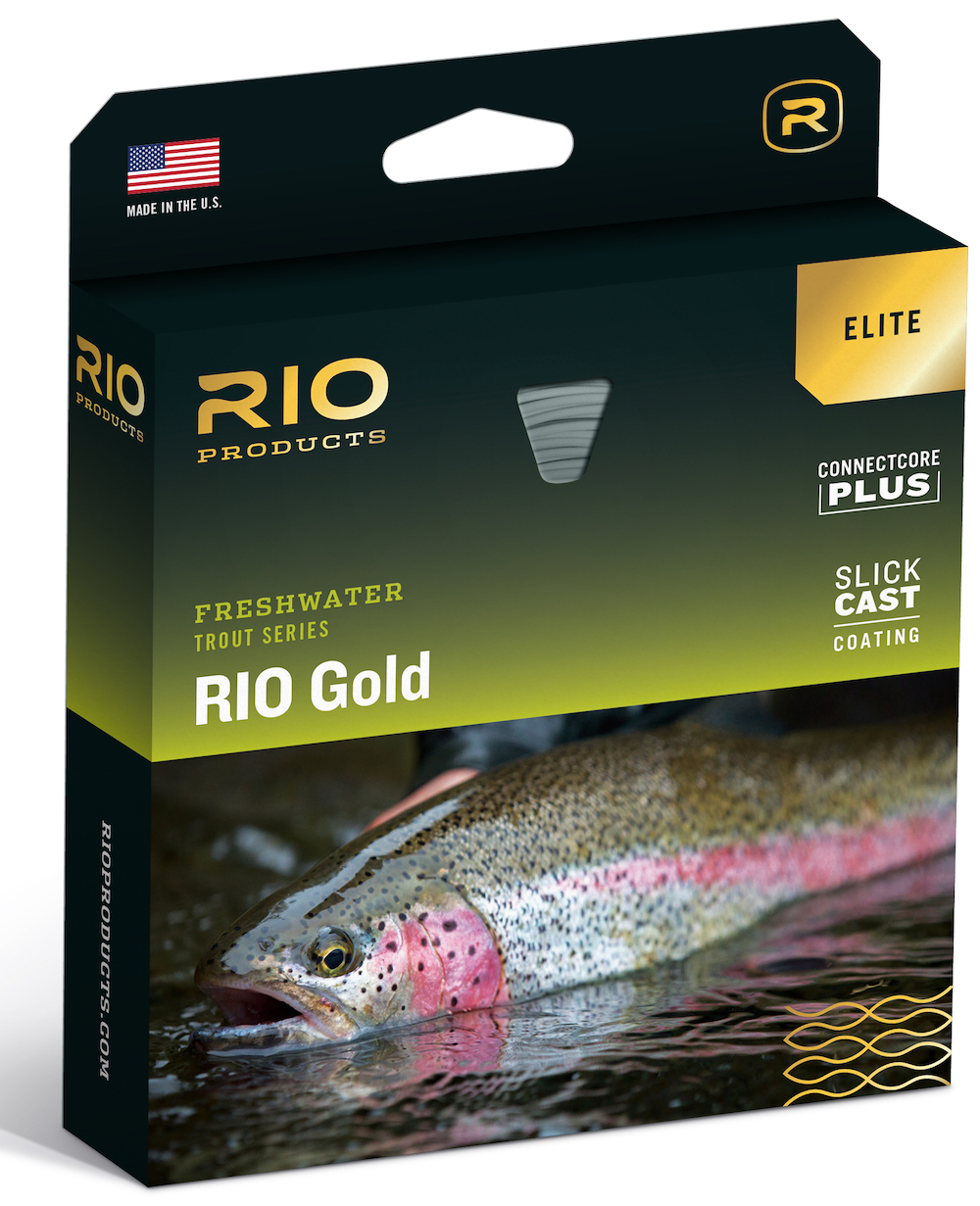 NEW! RIO Elite Gold Fly Line