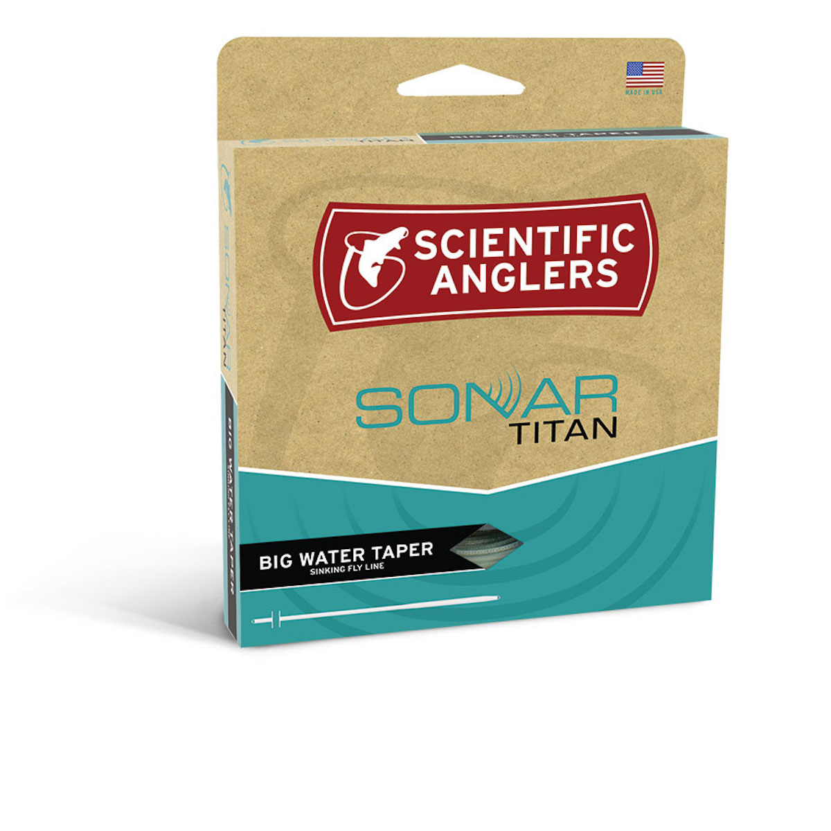 Scientific Anglers Sonar Titan BWT Big Water Taper Fly Line
